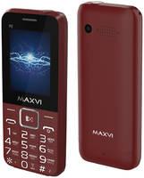 Сотовый телефон Maxvi P2 Wine-Red