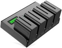 Зарядное устройство Powerextra PA-SNF970LCD-D + 4 аккумулятора 24334