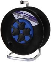 Удлинитель на катушке без заземления Perfeo RuPower 4 Sockets 30m Black PF_C3367