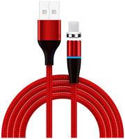 Аксессуар Jellico KDS-80 USB - Lightning Magnet 1m Red