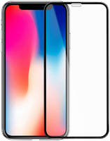 Защитное стекло Mietubl для APPLE iPhone X / 11 Pro Super D Full Glue Black M-636262