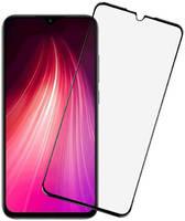 Защитное стекло Vmax для Xiaomi Redmi Note 8 2.5D Full Glue V-042222