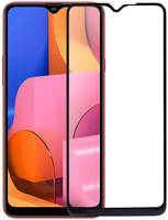 Защитное стекло Mietubl для Samsung A20S Super D Full Glue Black M-839031