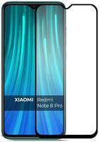 Защитное стекло Mietubl для Xiaomi Redmi Note 8 Pro 11D Full Glue Black M-636194