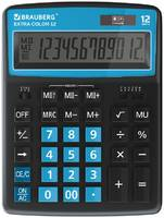 Калькулятор Brauberg Extra Color-12-BKBU 250476