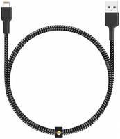 Аксессуар Aukey MFi USB - Lightning 1.2m Black-White CB-BAL3