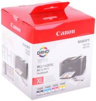 Картридж Canon PGI-1400BK/C/M/Y XL EMB MULTI для MAXIFY МВ2040/МВ2340 9185B004 PGI-1400XL