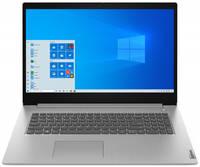 Ноутбук Lenovo IdeaPad 3 17ADA05 81W20001RK (AMD Ryzen 3 3250U 2.6 GHz/4096Mb/1000Gb/AMD Radeon Graphics/Wi-Fi/Bluetooth/Cam/17.3/1600x900/DOS)