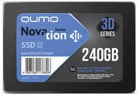 Твердотельный накопитель Qumo Novation TLC 3D SSD 240Gb Q3DT-240GAEN
