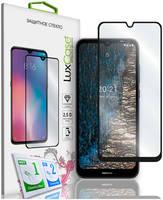Стекло защитное LuxCase Nokia C20 черная рамка