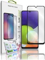 Стекло защитное LuxCase Samsung Galaxy A22 черная рамка