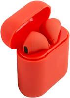 Беспроводные наушники Red Line (TWS) BHS-10 soft touch красные