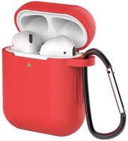 Чехол для наушников Eva для Apple AirPods 1/2 с карабином - (CBAP40R)