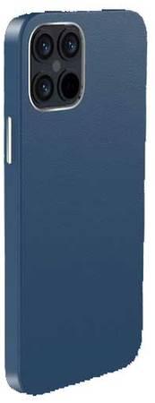 Чехол Comma Royal leather case для iPhone 12 mini - Bue
