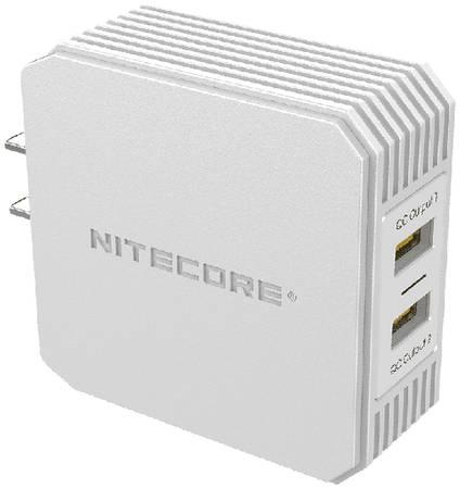 Сетевое зарядное устройство Nitecore UA42Q 2.1A (18391)