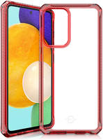 Чехол антибактериальный ITSKINS HYBRID CLEAR для Samsung Galaxy A52