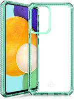 Чехол антибактериальный ITSKINS HYBRID CLEAR для Samsung Galaxy A52 мятный