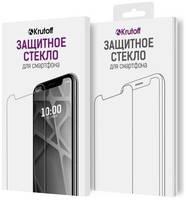 Стекло защитное Krutoff для Oppo A15 Full Glue Premium Black 22937