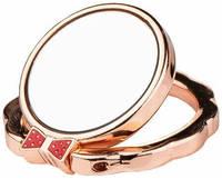 Кольцо Devia Finger Hold Butterfly - , Розово-золотой