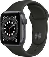 Умные часы Apple Watch Series 6 40mm Space Aluminium Case with (MG133RU/A)