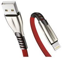 USB кабель Exployd EX-K-835 8 Pin Sonder 2.1A 1м красный