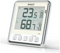 Цифровой термогигрометр RST с большим дисплеем, 02404
