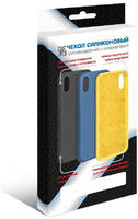 Чехол DF для iPhone 12 / 12 Pro с микрофиброй Silicone iOriginal-05