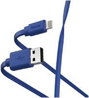Кабель Hama 00187232 Lightning USB 2.0 (m) 1м синий
