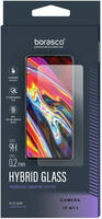BoraSCO Защитное стекло (Экран+Камера) Hybrid Glass для Samsung Galaxy S21+