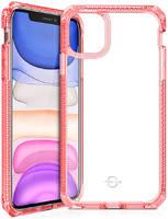 "Чехол антибактериальный ITSKINS HYBRID CLEAR для Apple iPhone 11 61"" коралловый"