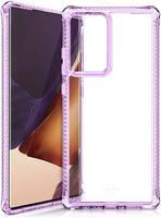 Чехол антибактериальный ITSKINS HYBRID CLEAR для Samsung Galaxy Note 20 Ultra сиреневый