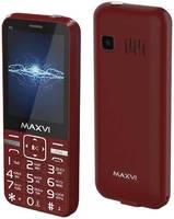 Мобильный телефон MAXVI P3 WINE (2 SIM)