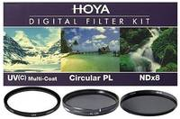 Набор светофильтров HOYA Digital Filter Kit HMC MULTI UV, Circular-PL, NDX8 - 40.5mm