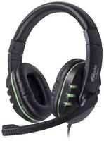 Наушники Ritmix RH-555M Gaming -Green