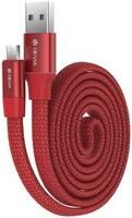 Кабель Devia Ring Y1 Type-C - Red