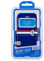 Чехол Momax для iPhone 5/5S Stand View Case Franch Style