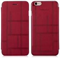 Чехол-книжка Momax для iPhone 6/6S PLUS Flip Diary Elite Series Бордовый