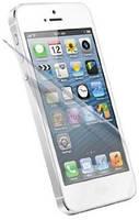 Защитная пленка Momax двусторонняя Glitter for iPhone 5/5S Прозрачный