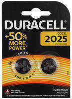 Батарея Duracell DL/CR2025 CR2025 (2шт)