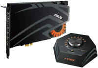 Звуковая карта Asus PCI-E Strix Raid DLX (C-Media 6632AX) 7.1 (STRIX RAID DLX)