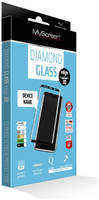 Закаленное защитное стекло MyScreen 3D DIAMOND Glass EA Kit Black iPhone 8Plus/7Plus