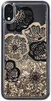 Чехол-накладка LAUT LIQUID GLITTER для Apple iPhone XR цветы