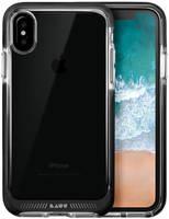 Чехол-накладка LAUT FLURO для Apple iPhone X/XS ударопрочный, прозр., кант