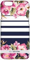 Чехол-накладка So Seven Romantic Flower & Lines для Apple iPhone 7/8 Plus