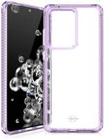 Чехол антибактериальный ITSKINS HYBRID CLEAR для Samsung Galaxy S20 Ultra сиреневый