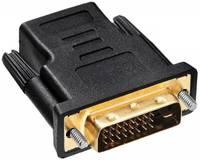 Переходник Buro HDMI-19FDVID-M_ADPT HDMI (f) DVI-D (m) черный