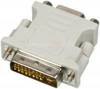 Переходник Ningbo DVI-I(m) VGA (f)