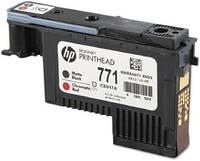Печатающая головка HP 771 черная матовая и хромическая красная (2500 стр)