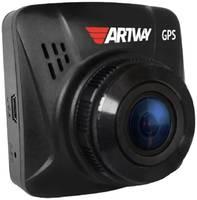 Видеорегистратор Artway AV-397 GPS Compact черный