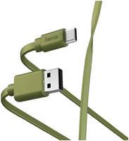 Кабель Hama 00187231 USB Type-C USB A(m) 1м зеленый